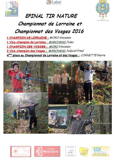 Capture Championnat Lorraine et Vosges 2016