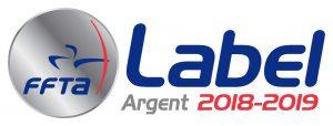 Label ARGENT FFTA 2018-2019